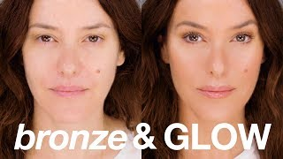 Instant Bronze & Glow Beauty Makeup