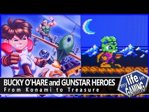 Treasure Co. Ltd. / Bucky O'Hare :: Before & After - MY LIFE IN GAMING