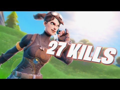 INSANE 27 KILL SOLO VS SQUADS