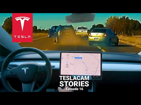 Tesla Autopilot predicts CRASH compilation 2020 | TESLACAM STORIES #16
