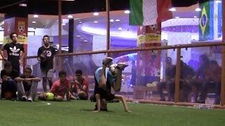 شاهد بالفيديو : مهارات مذهلة لاصغر لاعب فرى ستايل فى مصر
