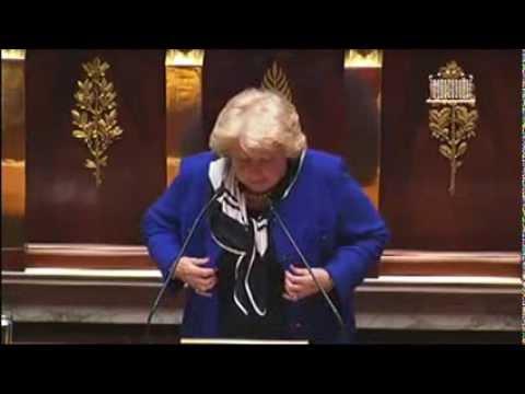 30/01/13  Discours de Marie-Jo Zimmermann à l'Assemblée Nationale contre le Mariage Pour Tous
