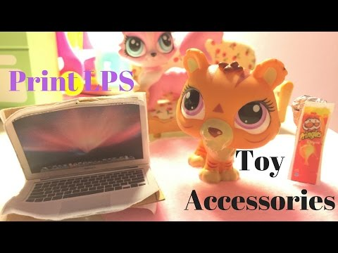 How to make LPS laptop, iPhone, and iPad printables