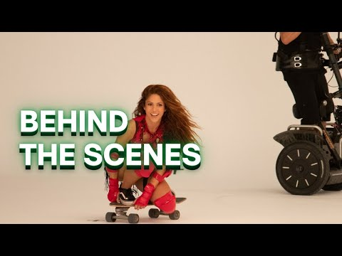 Black Eyed Peas, Shakira - GIRL LIKE ME (Behind The Scenes)