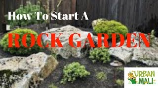 How To Start A Rock Garden - UrbanMali.com