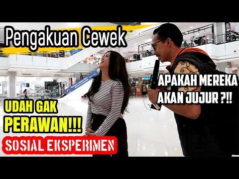 SUDAH TIDAK PERAWAN APAKAH AKAN JUJUR ?? Sosial Eksperimen Indonesia