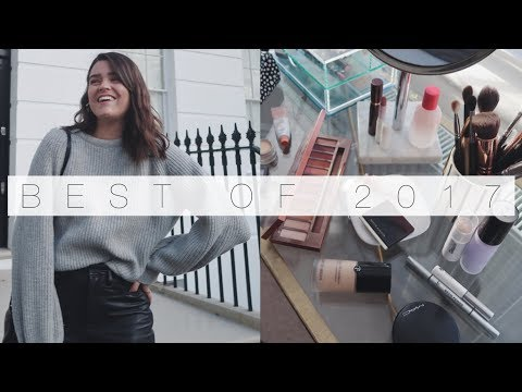 2017 Makeup & Style Favourites | The Anna Edit