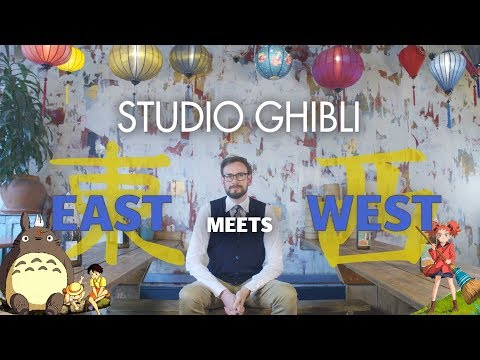 Studio Ghibli's Unique East Meets West Animation Style