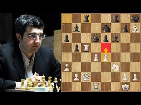 Big Vlad Overtakes Carlsen With Style  | Aronian vs Kramnik | Candidates Tournament 2013. | Round 12