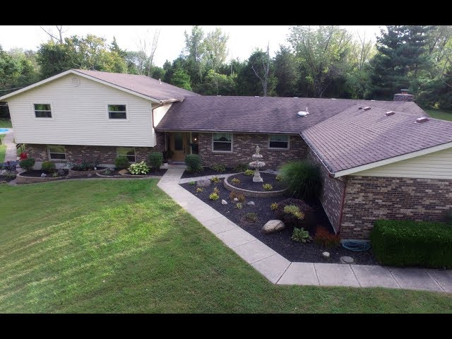 2112 Belvo Road Miamisburg OH 45342 - Gorgeous 3400 Sq Ft Home on 2.5+ Private Acres