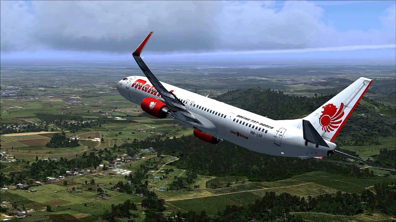 Malindo Air: FSX HD + FTX GLOBAL MALINDO AIR B737-900 KUCHING INTL