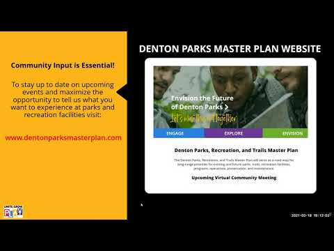 Virtual Community Meeting | Master Plan, March 18