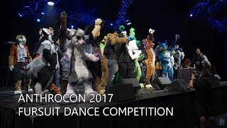 Full Length Anthrocon 2017 Fursuit Dance Competition in 4K 60fps