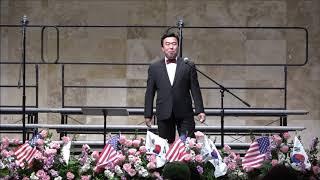 3.1 운동 100주년 기념 연합음악회 .Tenor 오위영 .  촬영 김정식  2019년  3월  1일