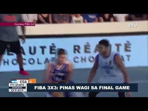 SPORTS BALITA | FIBA 3x3: Pinas Wagi sa Final Game