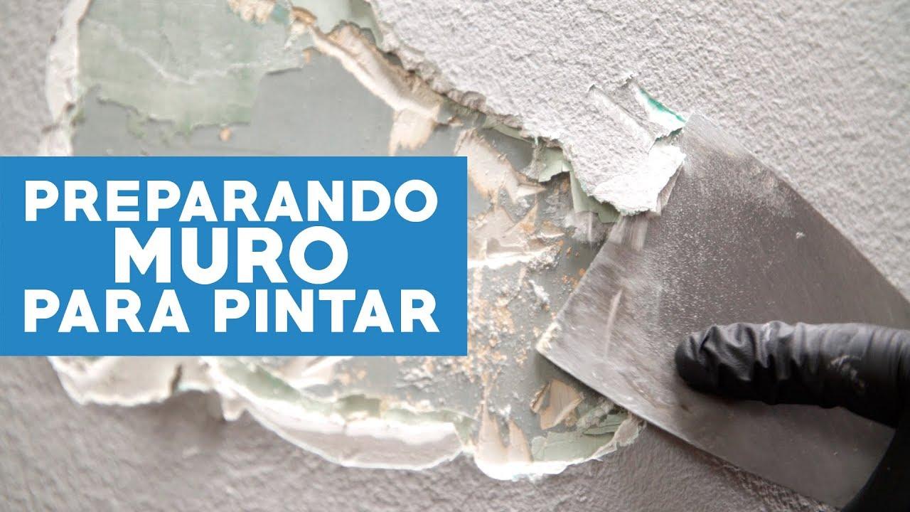 Cómo Preparar Un Muro Para Pintar