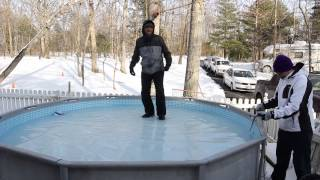 Branden Falling Through Ice