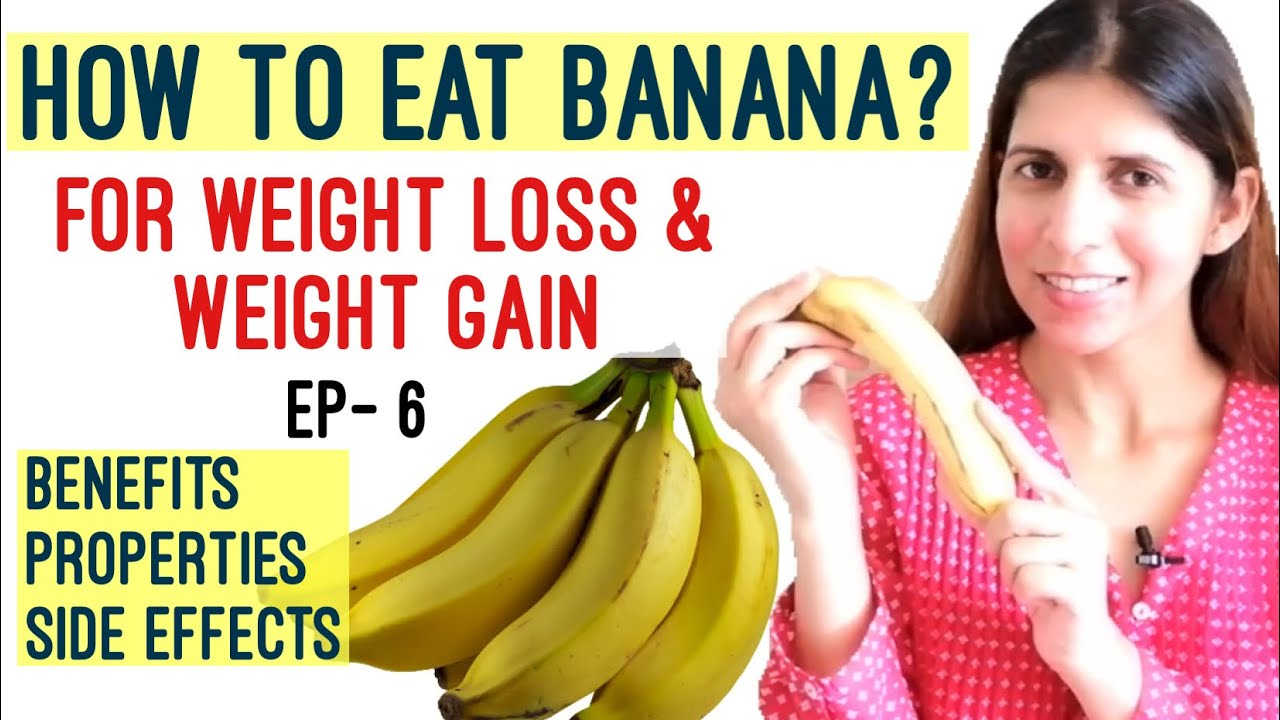 plant based diet weight loss bananas
