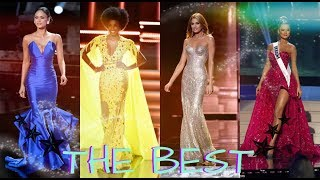 ♛THE BEST 15 GIRLS IN EVENING GOWN COMPETITION♛ MISS UNIVERSE 2014-2017