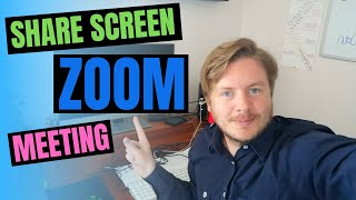 How To Share Screen In Zoom Meeting 2020