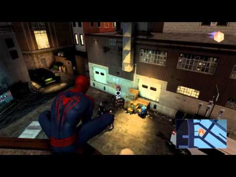 The Amazing Spider-Man 2 (PC) -- Swinging & Fighting (Combat) Gameplay Footage [HD]
