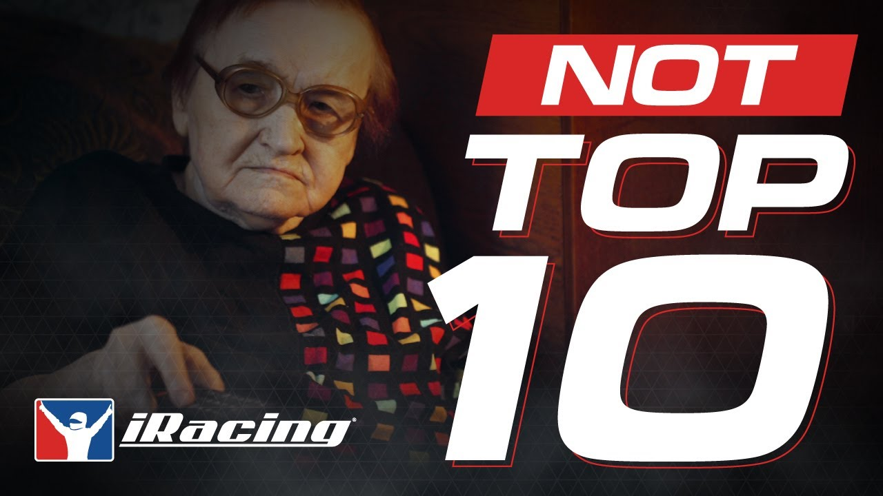 Video: iRacing NOT Top 10 Highlights July 2020