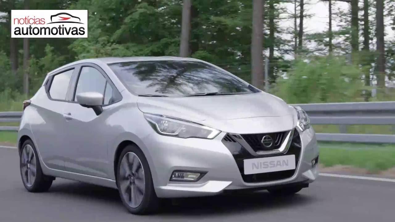 Novo Nissan March 2018 - NoticiasAutomotivas.com.br - YouTube