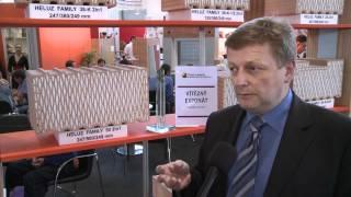 HELUZ cihlářský průmysl - ocenění na Stavebním veletrhu Brno 2012