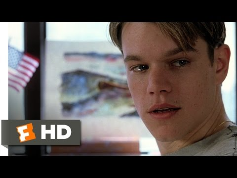 Good Will Hunting (3/12) Movie CLIP - The Painting (1997) HD