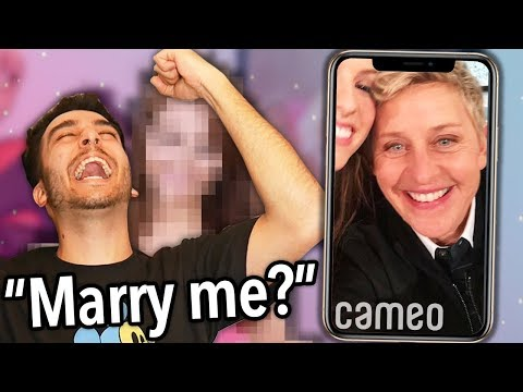 I Paid Celebrities To Propose To My FAKE GIRLFRIEND! *I GOT SCAMMED*
