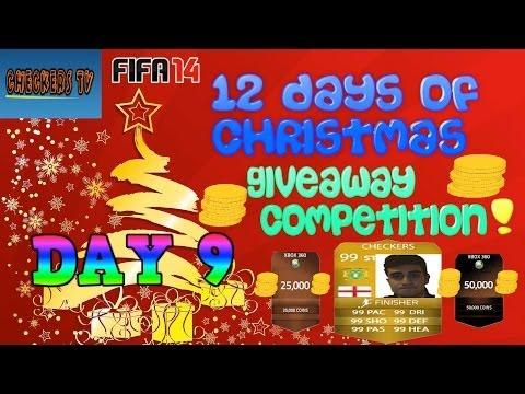 FIFA 14 | 12 DAYS OF CHRISTMAS COMPETITION | DAY 9 - ROBERT LEWANDOWSKI GIVEAWAY!