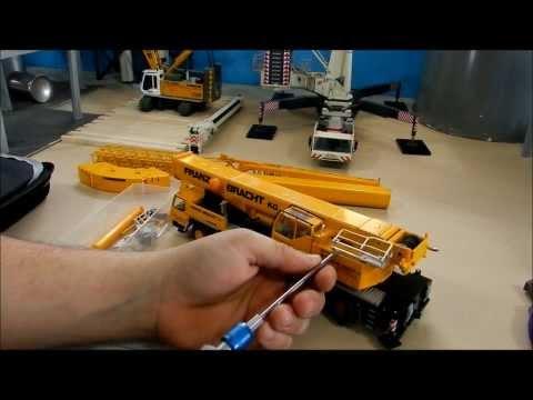 Crane Repaint Tutorial pt.2 (liebherr ltm1200 tear down pt.1)