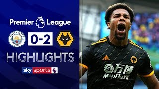 Man City lose to Wolves following late Traoré brace! | Man City 0-2 Wolves | EPL Highlights