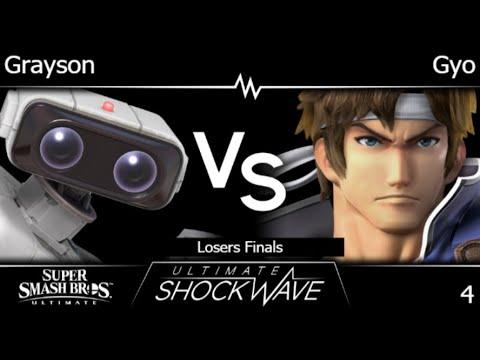 USWo 4 - FRKS | Grayson (ROB) Vs HMO | Gyo (Richter, GnW) Losers Finals - SSBU