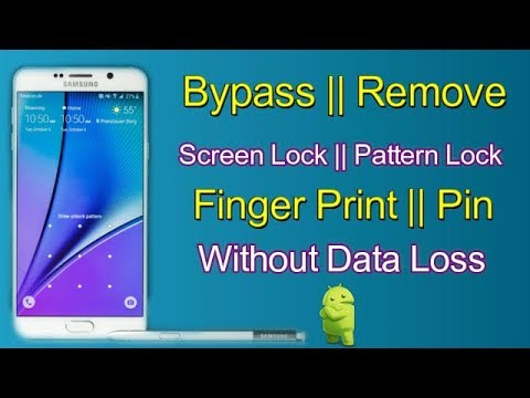 Bypass||Remove||Pattern||Screen Lock||Finger Print||Password Without Dat...