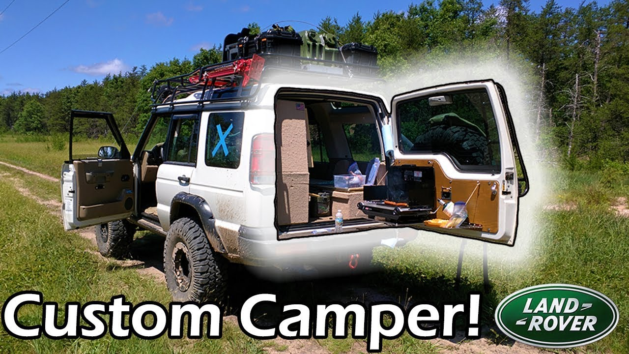 Land Rover Camper 215 My Quot Home On Wheels Quot Discovery 2 Youtube