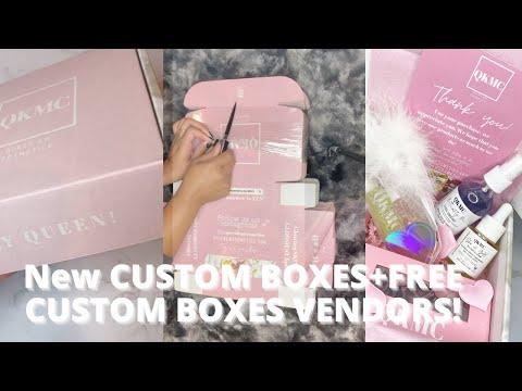 NEW CUSTOM BOXES+CUSTOM BOXES VENDORS!LIFE OF A ENTREPRENEUR