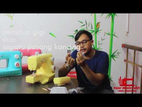 Singer colour 3223 G Y R warna kuning merah hijau