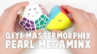 QiYi Mastermorphix and ShengShou Pearl Megaminx Unboxing! | TheCubicle.us