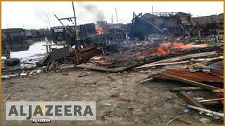 Video Lagos: Evicted slum-dwellers demand right to return download MP3, 3GP, MP4, WEBM, AVI, FLV November 2017