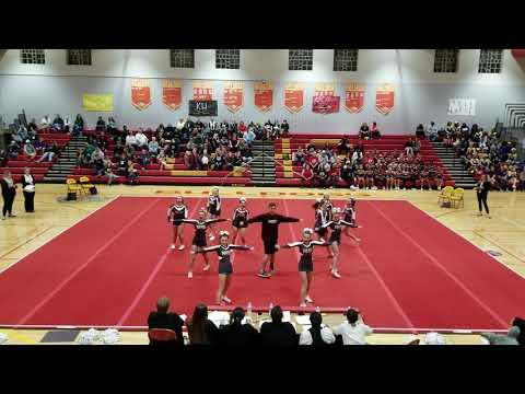 Nandua High School at 2A Regional Cheerleading Competition 2018