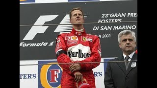 MOST EMOTIONAL WIN FOR MICHAEL SCHUMACHER - IMOLA 2003