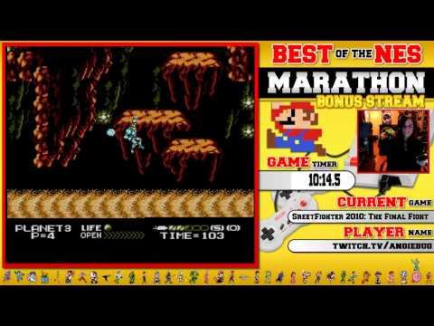 #BestOfNES Marathon! Street Fighter 2010: The Final Fight by AngieBug!