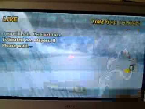 VIDEOJAMMY Ninbaned on mario kart wii (HACKING ONLINE) on sherbet land