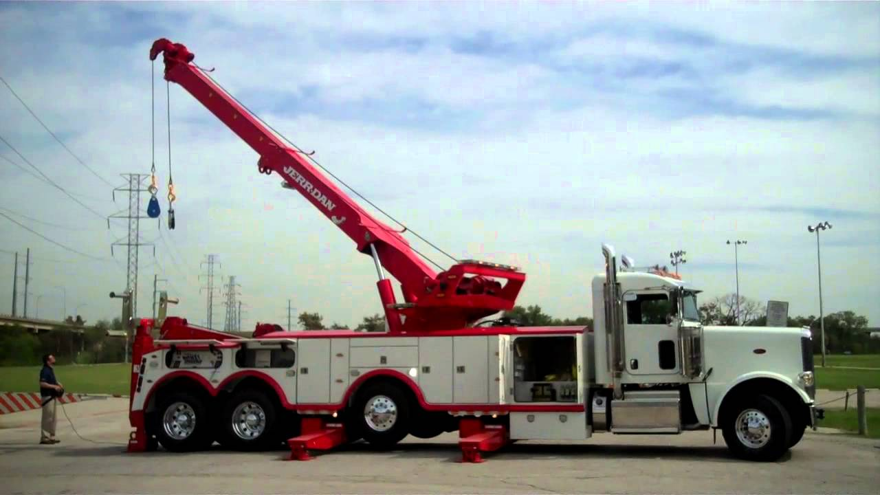 2013 peterbilt 388 with jerr dan 5060 ton rotator youtube sciox Image collections