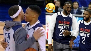 NBA All Star new FUNNY MOMENTS ft. Stephen Curry, Westbrook, LeBron and more
