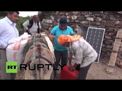 Turkey: Solar powered donkeys get shepherds online