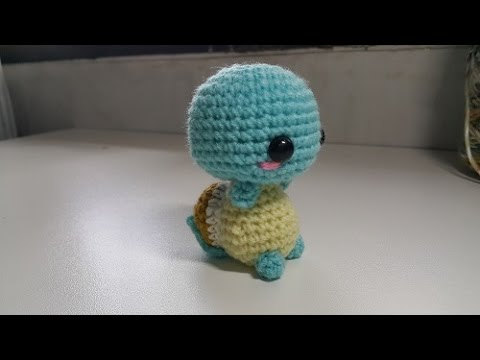 Crochet Tutorials On Youtube : Amigurumi Crochet Squirtle Tutorial - YouTube