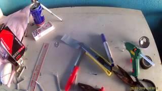 Cara membuat motor mainan sepeda motor - mini motor listrik vs Bacchus kaleng