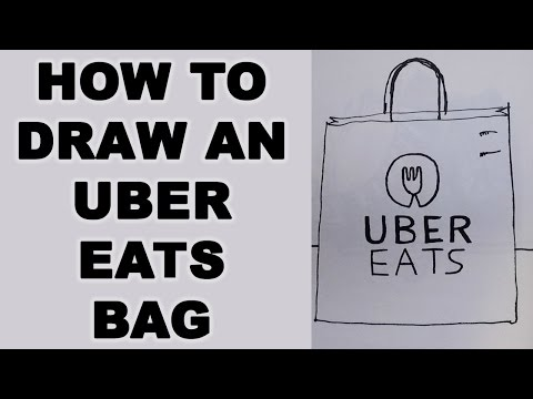 How to Draw Uber Eats